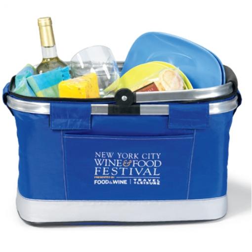 All Purpose Basket Cooler Blue