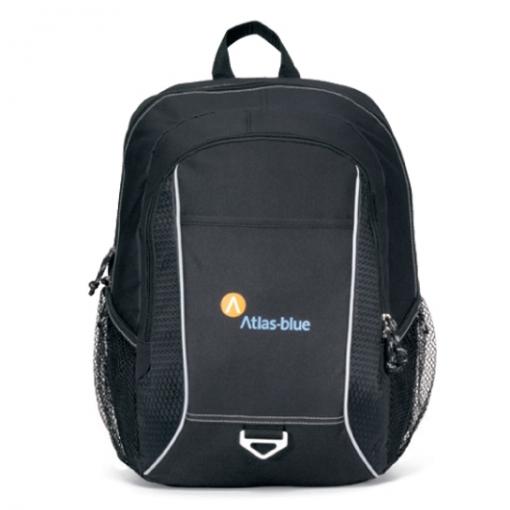 Atlas Computer Backpack - Black