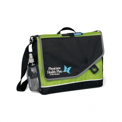 Attune Messenger Bag II Green-Black
