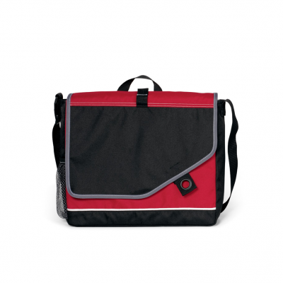 Attune Messenger Bag II Red-Black