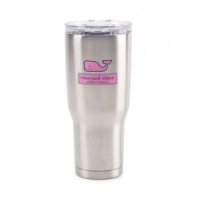 Aviana™ Midas Double Wall Stainless Tumbler - 24 Oz. Silver
