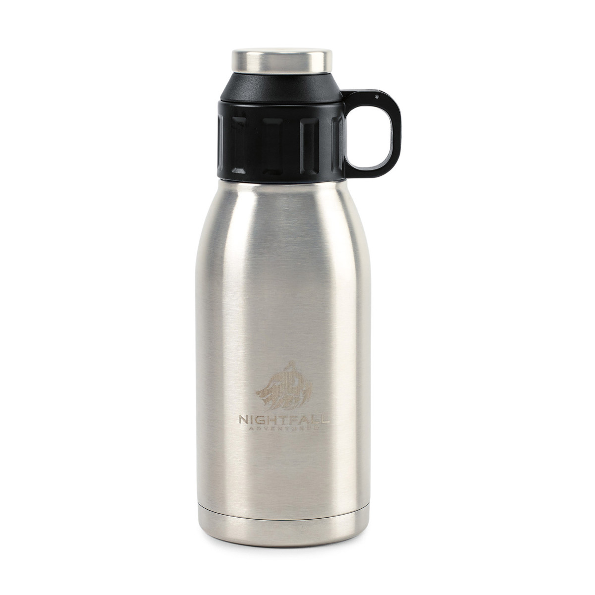 Aviana™ Trek Double Wall Stainless Canteen - 32 Oz. Silver