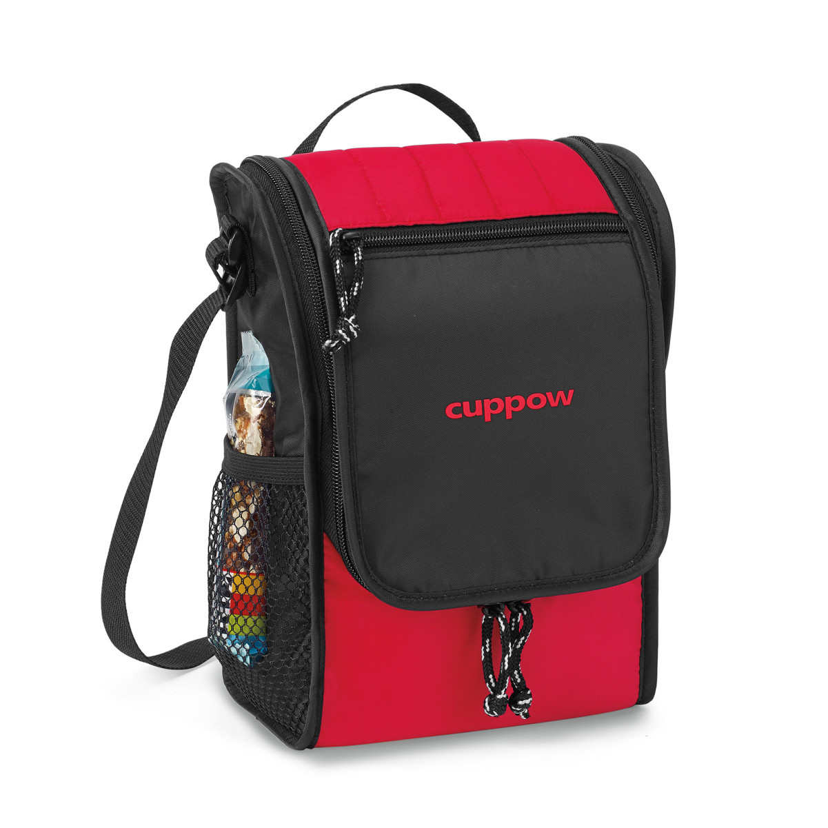 Carver Lunch Cooler Red
