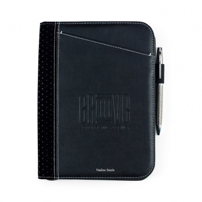 Cedar Junior Padfolio - Black