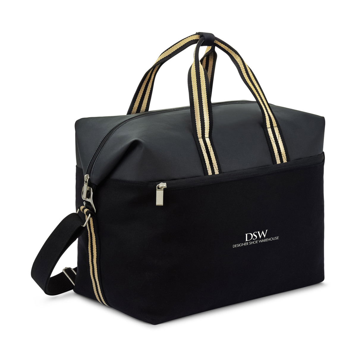 Charlie Cotton Weekender Black