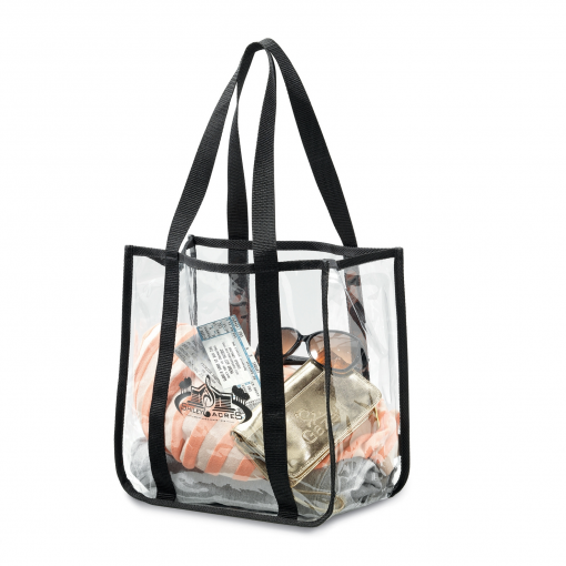 Clear Event Tote - Clear