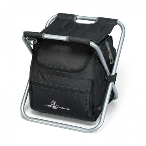 Deluxe Spectator Cooler Chair Black