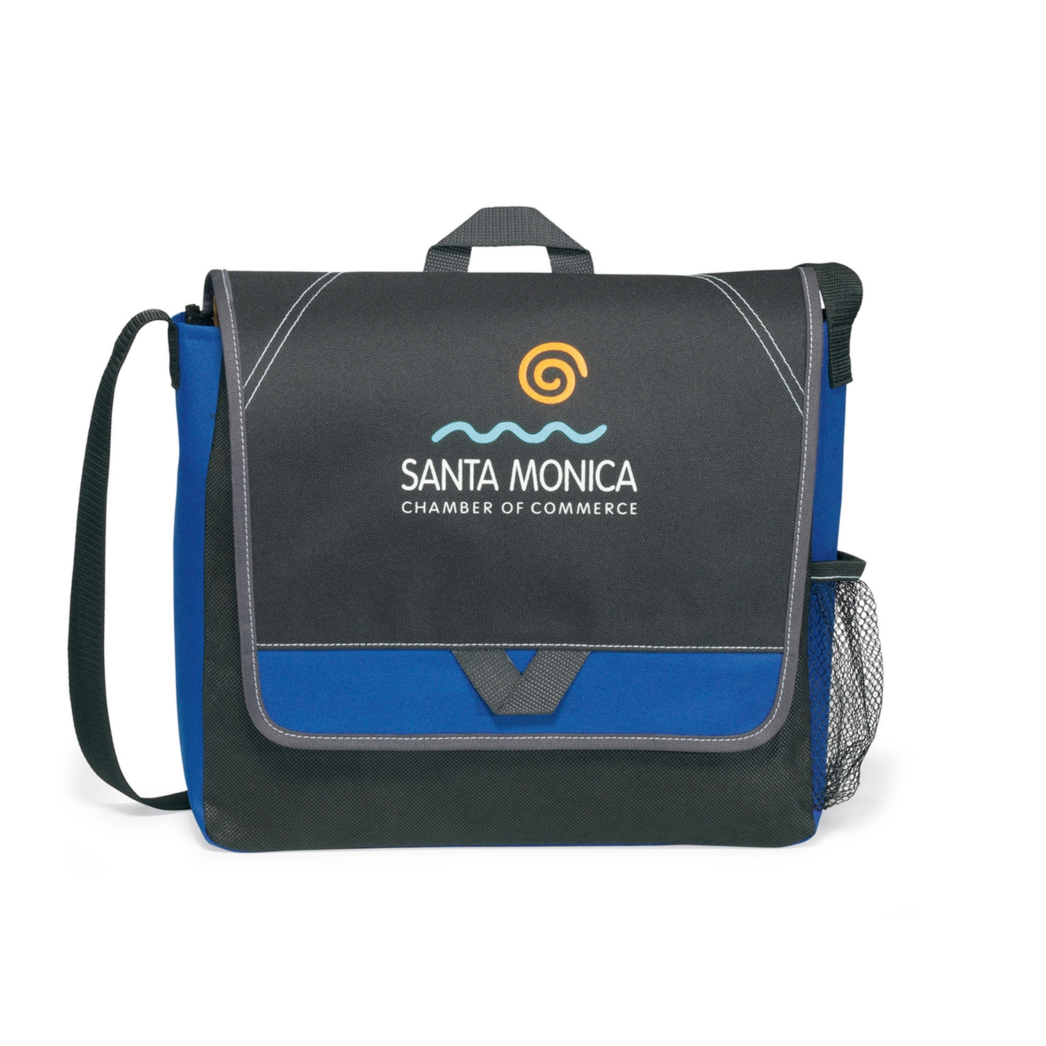 Elation Messenger Bag Blue