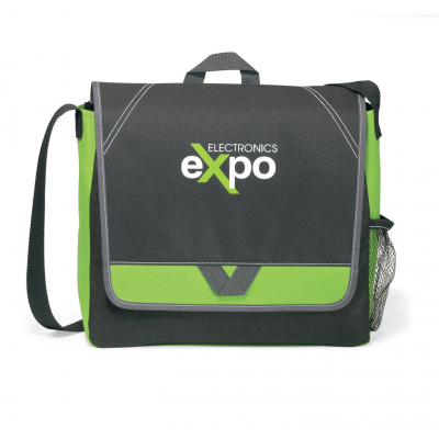 Elation Messenger Bag Green