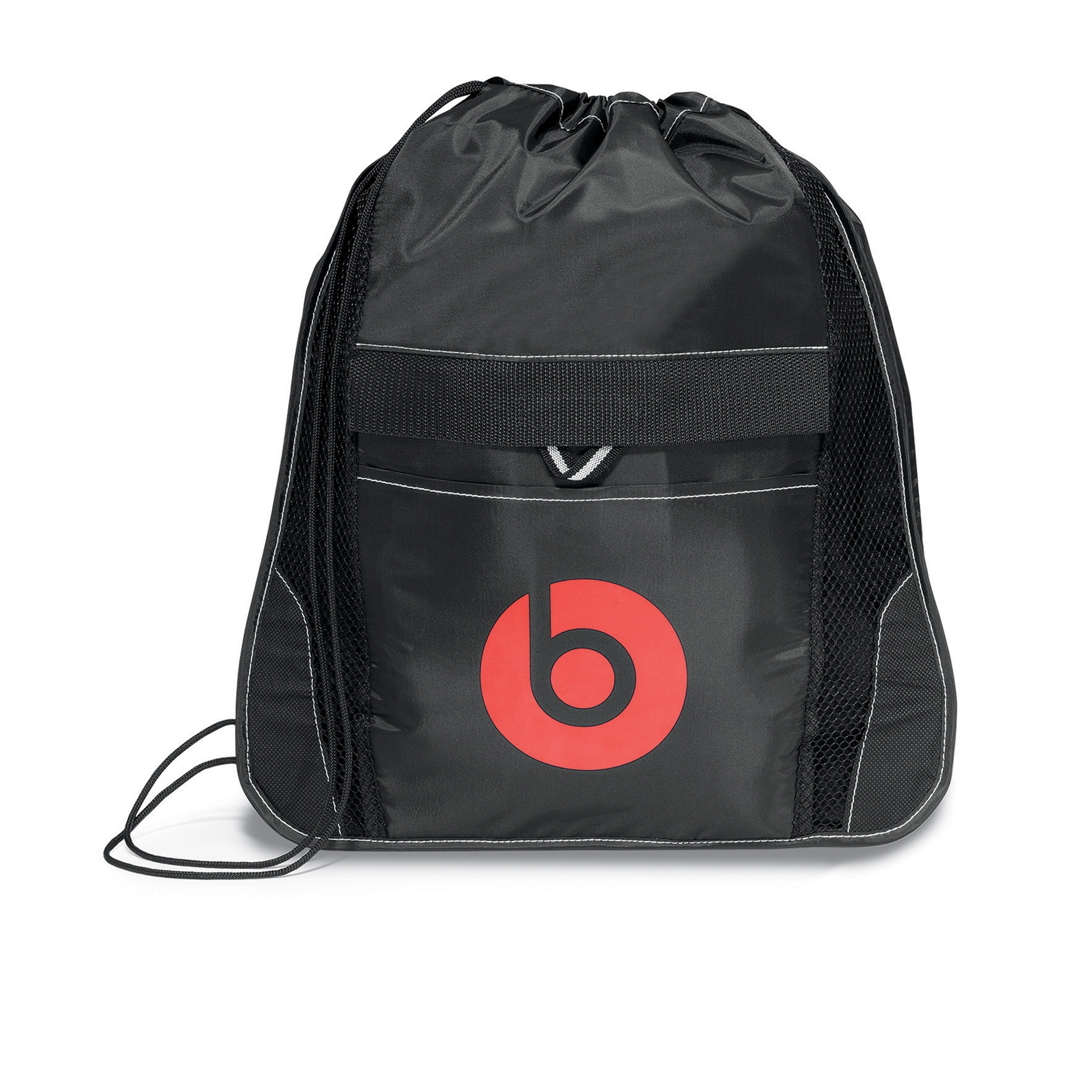 Elite Sport Cinchpack with Insulated Pocket Black