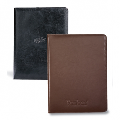 Executive Vintage Leather Writing Pad Black