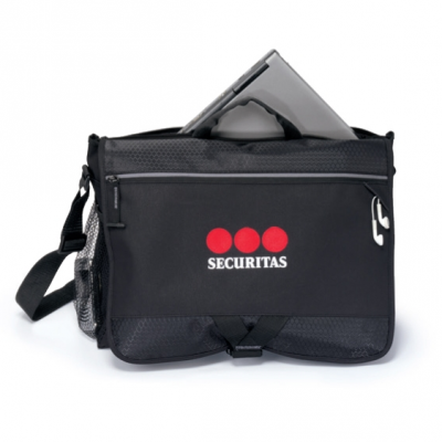 Focus Computer Messenger Bag Black