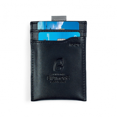 Glenwood Leather Wallet Black