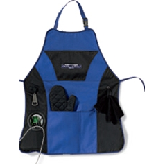 Grill Master Apron Kit Blue