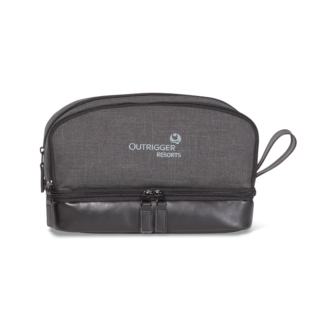 Heritage Supply™ Tanner Amenity Case Grey-Black