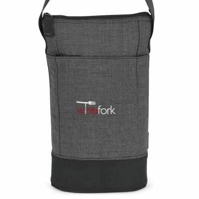 Heritage Supply™ Tanner Insulated Wine Kit Grey