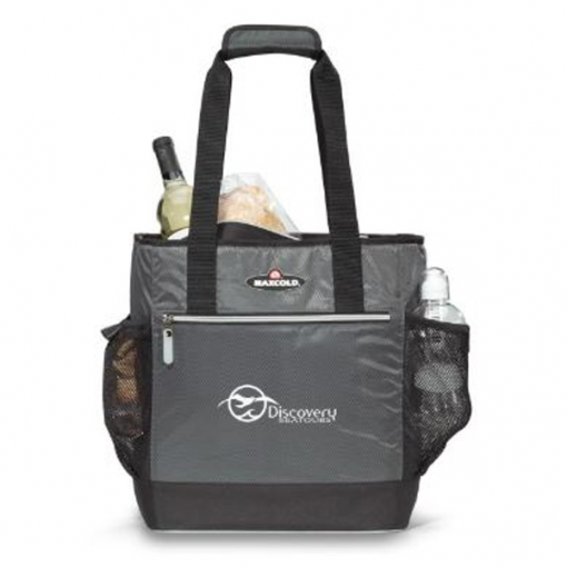 Igloo® MaxCold™ Insulated Cooler Tote Grey-Black