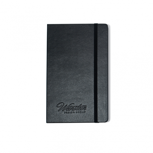 Moleskine® Hard Cover Plain Large Notebook - Black
