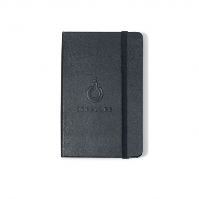 Moleskine® Hard Cover Plain Pocket Notebook Black