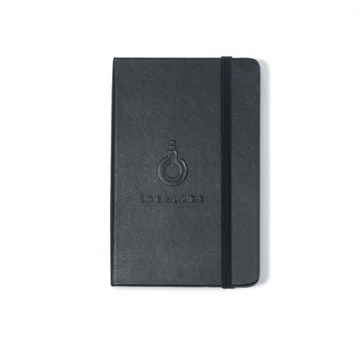 Moleskine® Hard Cover Plain Pocket Notebook - Black