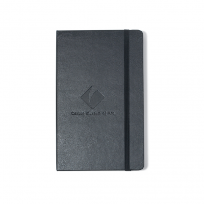 Moleskine® Hard Cover Ruled Large Notebook - Black