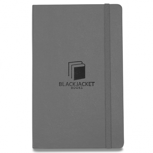 Moleskine® Hard Cover Ruled Large Notebook Grey