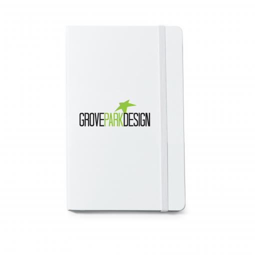 Moleskine® Hard Cover Ruled Large Notebook - White