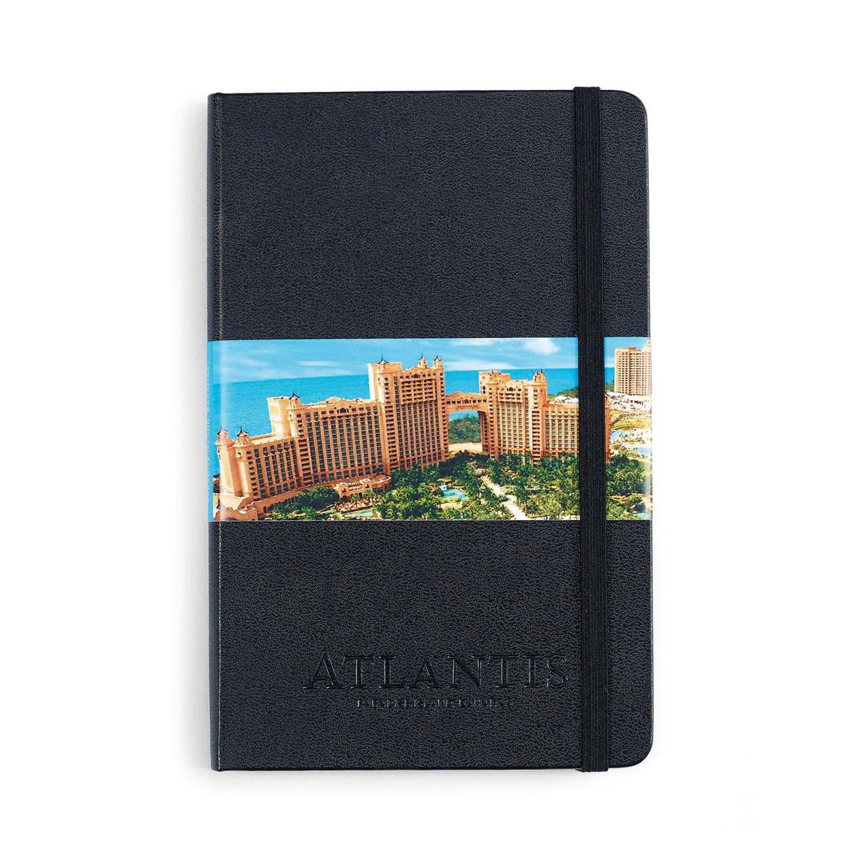 Moleskine® Hard Cover Ruled Medium Notebook Black