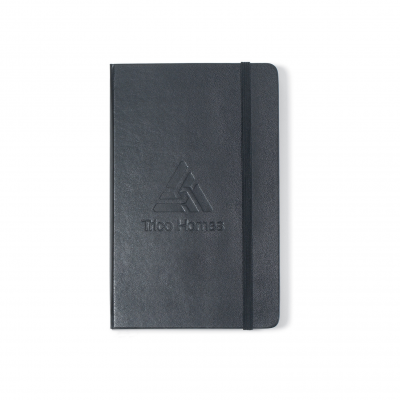 Moleskine® Hard Cover Squared Large Notebook - Black