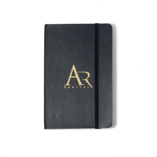 Moleskine® Soft Cover Ruled Pocket Notebook - Black