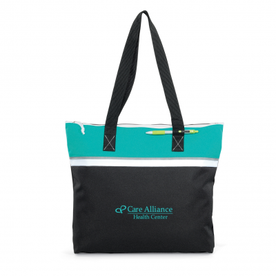 Muse Convention Tote Turquoise
