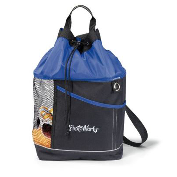 Oceanside Sport Tote Blue