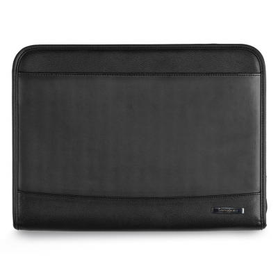 Samsonite Parker Leather Padfolio - Black
