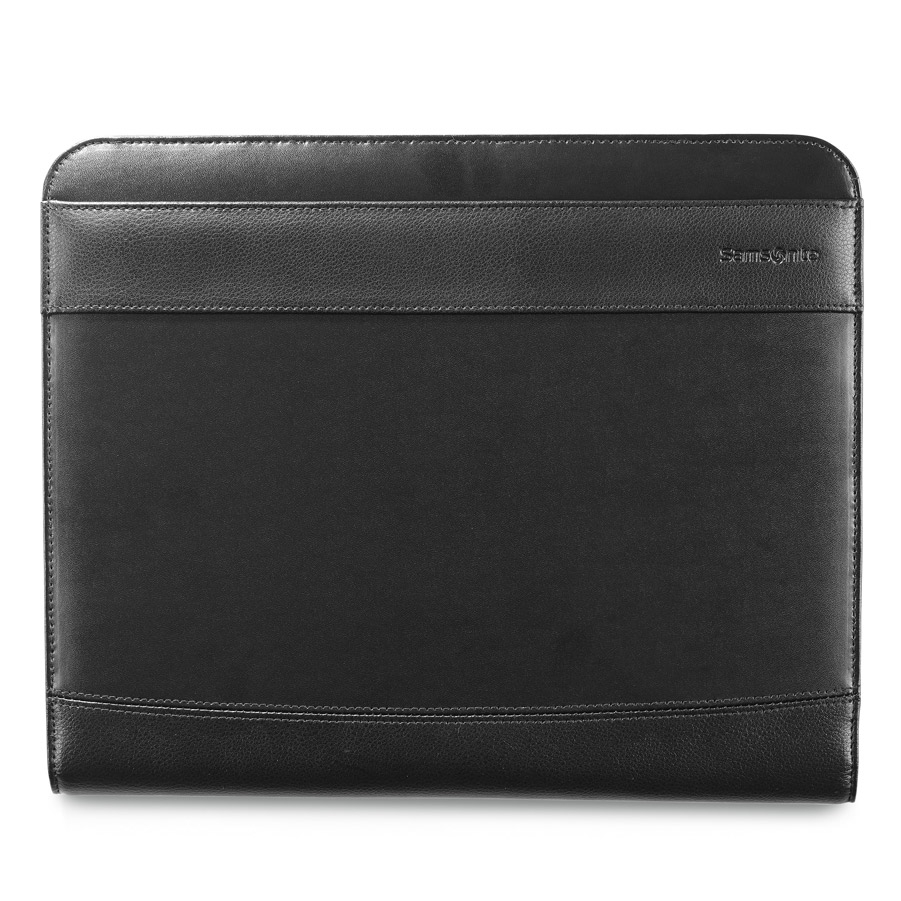 Samsonite Peyton Leather Writing Pad Black