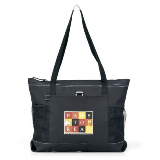Select Zippered Tote - Black