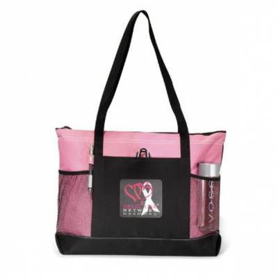 Select Zippered Tote Pink