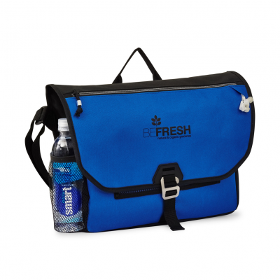 Subway Messenger Bag Blue