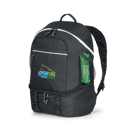 Summit Backpack Cooler - Black