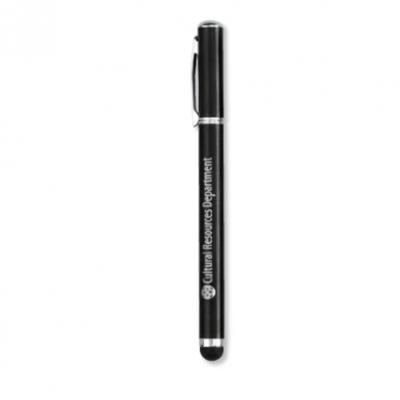 Travis & Wells™ Caliber Stylus Pen Black