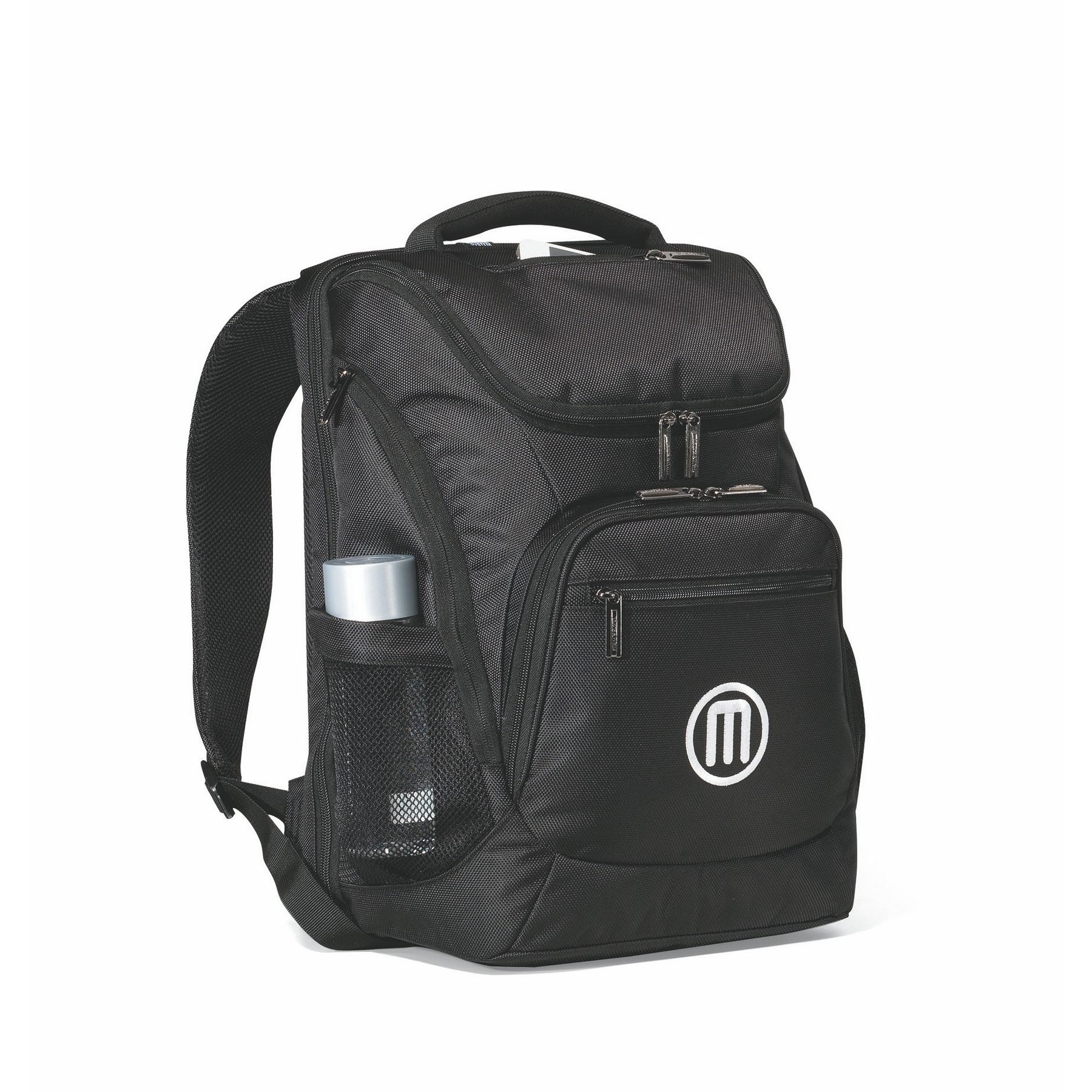 Travis & Wells™ Denali Computer Backpack Black