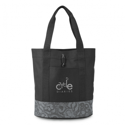 Trinity Fashion Tote Black-Grey