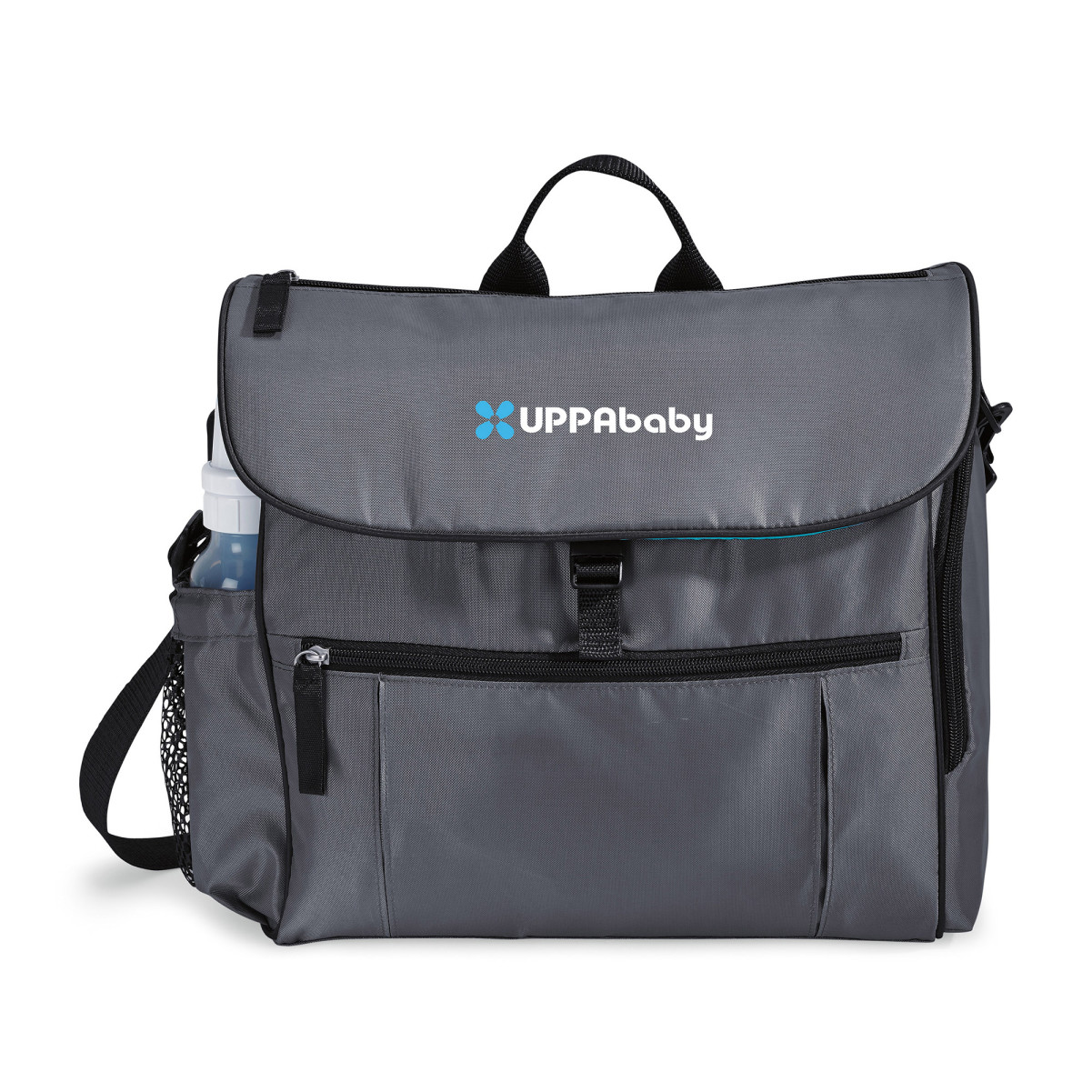 Uptown Convertible Diaper Bag Kit Grey