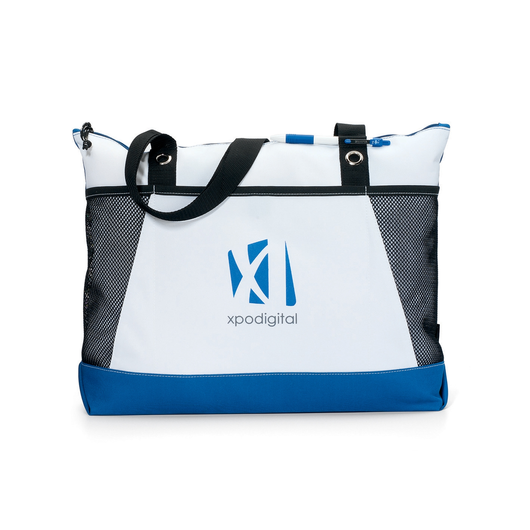 Venture Business Tote Blue