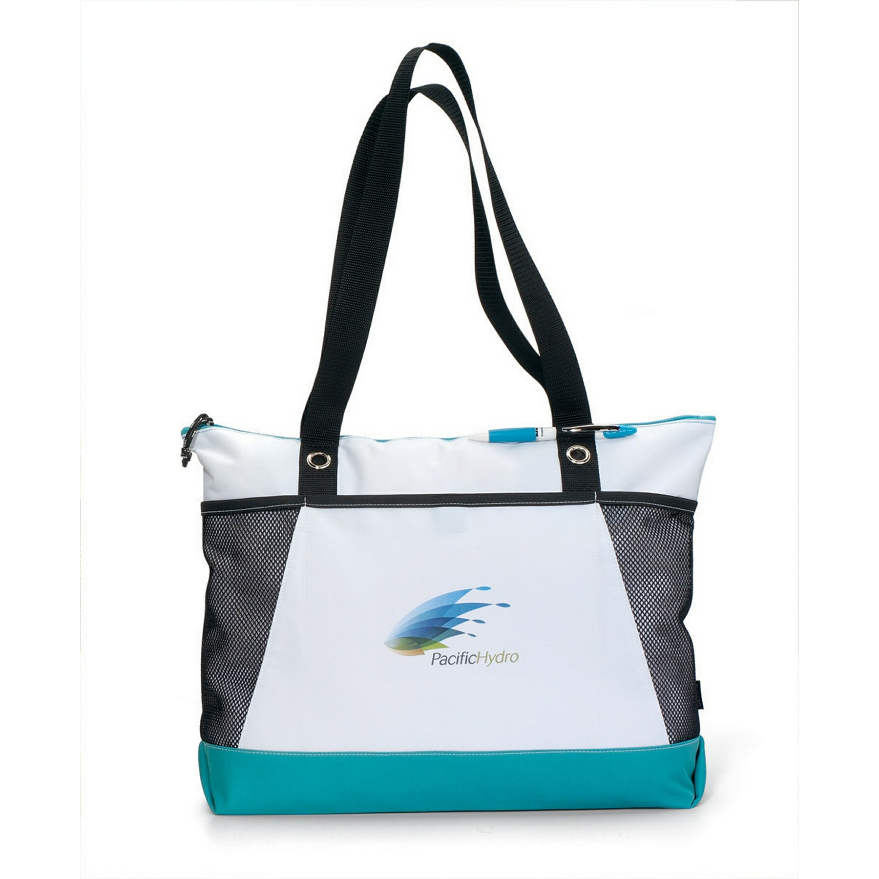 Venture Business Tote Turquoise