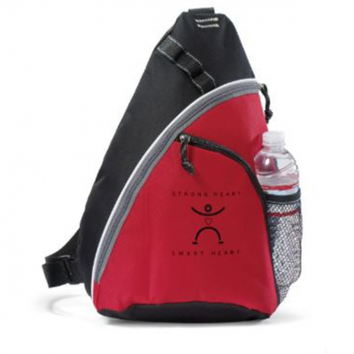 Wave Sling Bag Red
