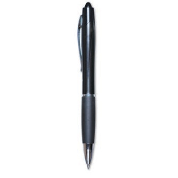 Zebra Z-Grip Max Retractable Ballpoint Jeweled Barrel Black