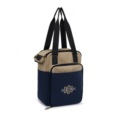 Southport Insulated Picnic Kit Blue-Natural