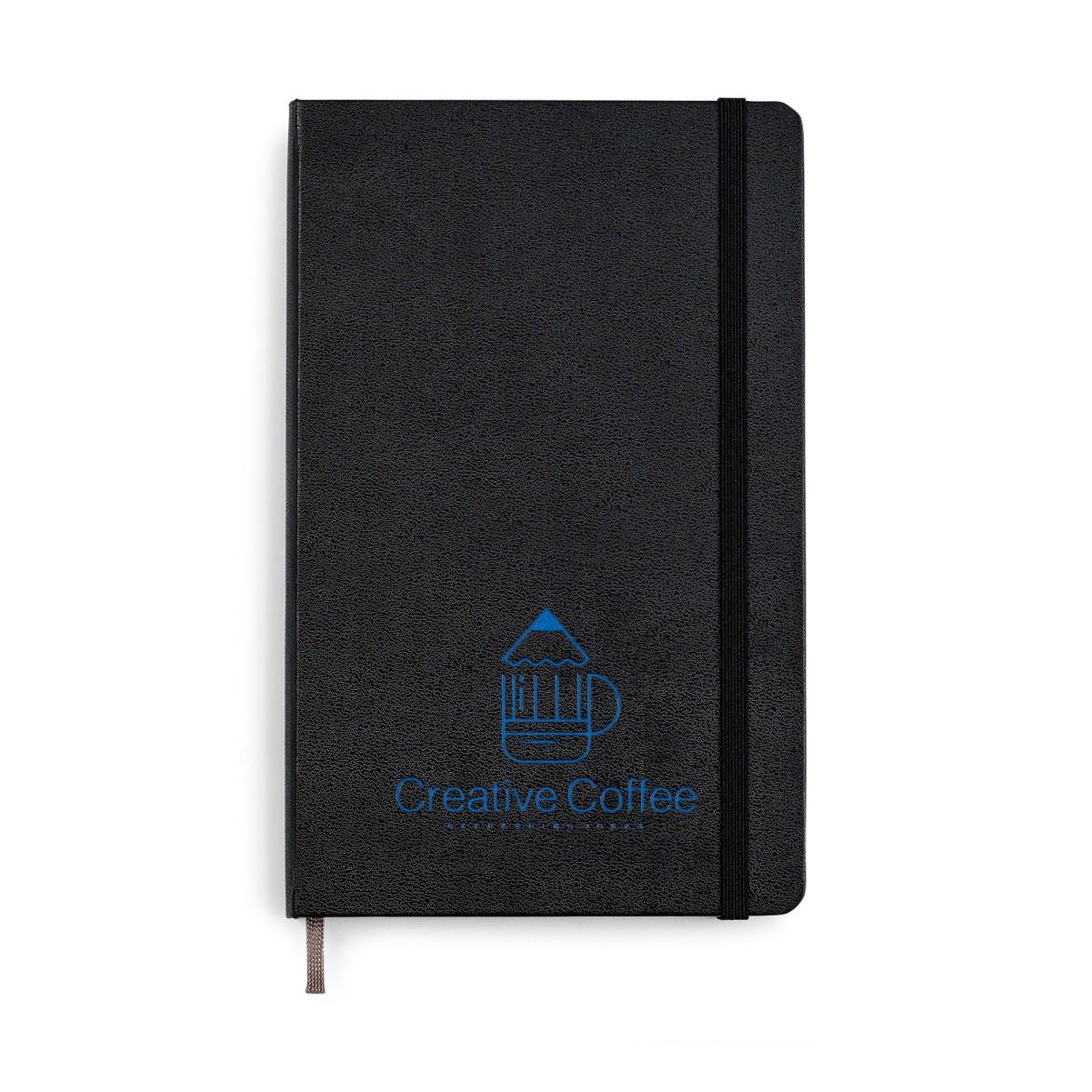 Moleskine® Hard Cover Dotted Large Notebook Black