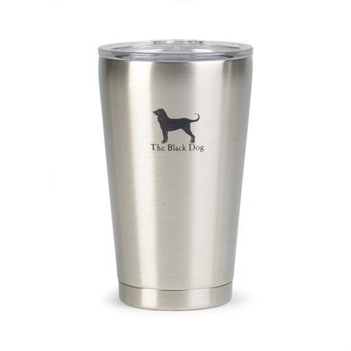 Aviana™ Vale Double Wall Stainless Pint - 16 Oz. Silver