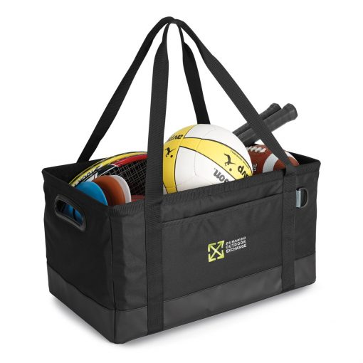 Life in Motion™ Deluxe Utility Tote Black